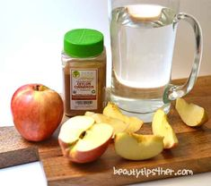 How to Make Detox Apple Cinnamon Metabolism Water – Zero Calorie Detox Drink | DIY Beauty Skincare and Health Tips