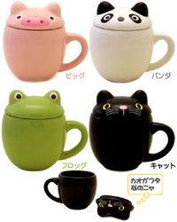 animal mug cup