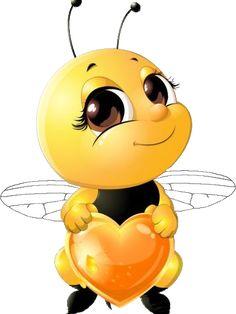 lovely cartoon bee set vectors 06 - www. Cartoon Bee, Cute Cartoon, Honey Bee Cartoon, Funny Emoji Faces, Bee Pictures, Art Mignon, Emoji Symbols, Emoji Love, Emoji Images