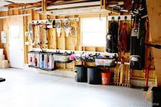 Getting Your Sports Equipment Organized - Finding Home