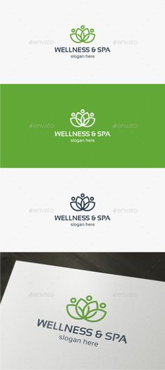 Wellness & Spa  - Logo Design Template Vector #logotype Download it here: http://graphicriver.net/item/wellness-spa-logo-template/11985996?s_rank=653?ref=nexion