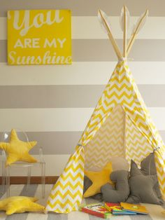 Carpa India Para Niños - Tipi - $ 1.260,00 en MercadoLibre Cabana, Baby Girl Room Decor, Kids Tents, Montessori, Diy For Kids, Kids Bedroom, Wood Projects, Art Decor, Toddler Bed
