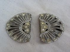 1930s Paste pot metal clips by thejunkdiva on Etsy, $14.50