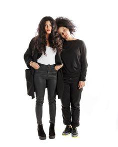 Naomi and Lisa-Kaindé Díaz of the Duo Ibeyi - NYTimes.com