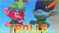 Trolls Movie Queen Poppy and Branch - Kids Coloring Book | Coloring Page...