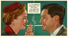 Chesterfield cigarettes ads