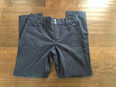 Chaps Womens Blue Dress Pants Size 12 #Chaps #KhakisChinos