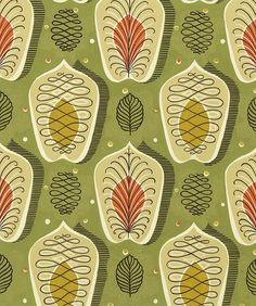 50s textile design PD-00114