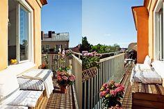 Apartamento de um quarto, é pequeno, mas com muita luminosidade e ideias! - dcoracao.com - blog de decoração