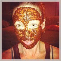 All natural Coffee facial mask...