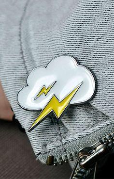 Thunder Cloud Pin - BKBT Concept - 1