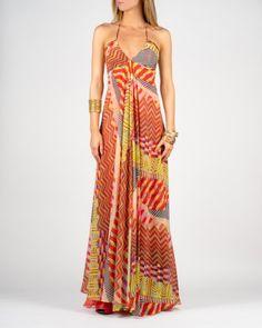 Alexis Payton Long Halter dress