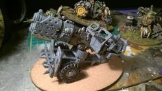 Scrap-built Ork Mek Gun