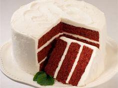 Receta Postre : Receta de bizcocho red velvet ( tarta de terciopelo rojo) por Spnathalie1234