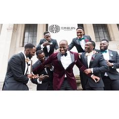 B R O T H E R H O O D  Photo by @t.philips  #GroomInspiration #Groom #GroomsMen #GroomsMan #BestMan #SuitAndTie
