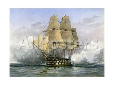 HMS Victory, British Warship, C1890-C1893 Landscapes Giclee Print - 61 x 46 cm