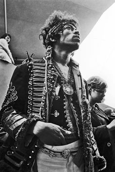 Jimi Hendrix, well he got STYLE