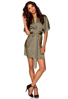 Dresser, Wrap Dress, Shirt Dress, Shirts, Fashion, Moda, Powder Room, Shirtdress, Wrap Around Dress