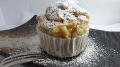 Muffin integrales con miel y manzanas, para tu desayuno saludable!