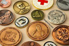 Medaglie pubblicitarie e monete promozionali by http://www.articolipromozionali.com