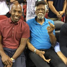 a9818d9bb431 Bill Russell Middle Finger - Chauncey Billups Instagram Pic Bill Russell