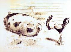 The amazing animal caricaturist, TS Sullivant! Art And Illustration, Character Illustration, Book Illustrations, Character Design Animation, Character Design References, Photoshop, Animal Design, Creature Design, Retro