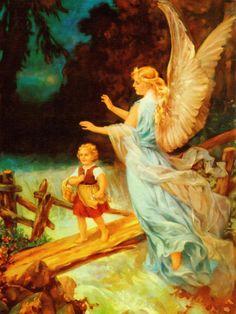 Heiliger Schutzengel Guardian Angel