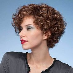 Here are 22 curly short hairstyles you will absolutely love, from Short-Haircut: Having short curly hair lets you have a lot of time for other things. You can use fewer products to replenish it… Short Curly Hairstyles For Women, Curly Hair Styles, Curly Hair With Bangs, Curly Hair Cuts, Permed Hairstyles, Hairstyles 2018, Asian Hairstyles, Female Hairstyles, Black Hairstyles