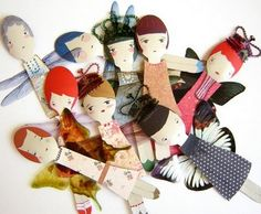 These spoon dolls are awesome!