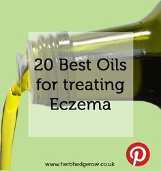 Best Oils for Eczema.  I've been learning about different oils and their respective healing products for a little while now and had no idea how easy and beneficial they are. It's pretty cool.