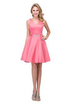 ecb1ba2c20 high low short front long back prom dress · Homecoming Dresses   Short  Cocktail Party Dresses - ABC Fashion Satin Shorts