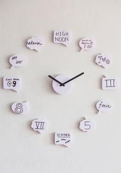 Tutoriales y DIYs: Idea para hacer un reloj de pared