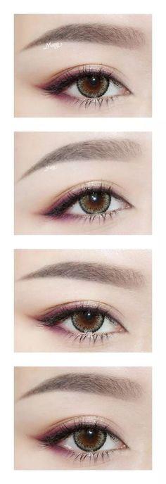Eye opening make up