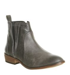 Office, Lone Ranger Casual Boots, Grey Leather