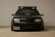 Volkswagen Jetta MKIV Had to Pin this for Ruben because of the roof rack and the deflector :)