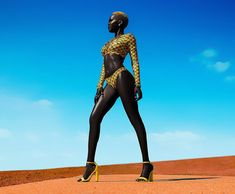 """Meet The """"Queen Of The Dark"""" Who Was Told To Bleach Her Beautiful Dark Skin By Uber Driver – Entertainments Weekly Dark Skin Models, Black Models, African Models, African Women, Black Is Beautiful, African Beauty, African Fashion, Black Girl Magic, Black Girls"""