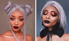 As maquiagens incríveis da Nyané Lebajoa - Hey Cute