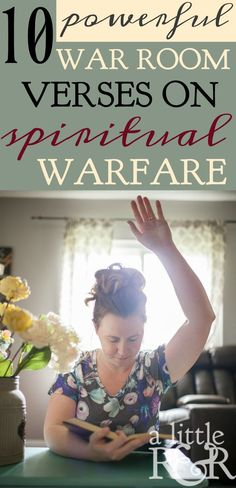 Christian Quotes:Prayers for family:When you're encountering spiritual warfare, take these 10 powerful verses to your war room. Prayer Times, Prayer Scriptures, Bible Prayers, Faith Prayer, My Prayer, Powerful Scriptures, Rosary Prayer, Christian Faith, Christian Living