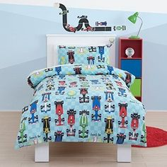 Cars Toddler Cot Bed Duvet Bedding Set by Just Kidding Single Bedding Sets, Single Duvet Cover, Duvet Cover Sets, Cot Bed Duvet, Duvet Bedding Sets, Big Boy Bedrooms, One Bedroom, Boys Single Bed, Kids Bedroom Accessories