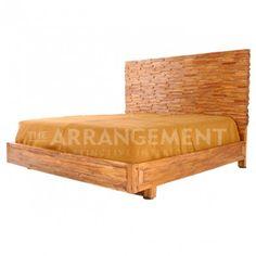 Rustic Modern King Bed