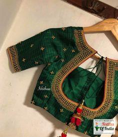 Choli Designs, Pattu Saree Blouse Designs, Blouse Designs Silk, Designer Blouse Patterns, Bridal Blouse Designs, Latest Saree Blouse Designs, Latest Blouse Patterns, Choli Blouse Design, Lehenga Blouse