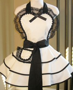 I want an apron like this!!!!