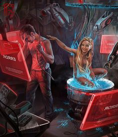 Creative Digital Illustrations by George Redreev