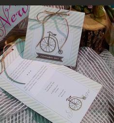 προσκλητηριο βαφτισης με θεμα το ποδηλατο