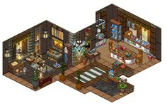 Hi! It sure been a while, here is the inside of the little piece of paradise mountain house, hope you enjoy the details! :3 Feel free to visit me on www.weebz.nl and add me on Anastasia. You can as...
