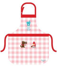 Red Riding Hood Apron  Design by Elizabeth Soo,2015