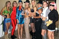 Britney Spears through the years—great group costume idea.