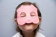 Del cerdo sentía máscara de los niños los niños por BHBKidstyle