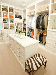 his & hers closet