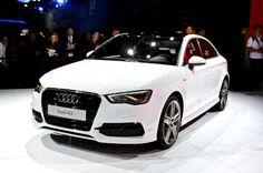 Audi A3 2015 White